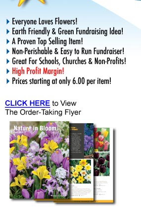 Flower Bulb Fundraiser Benefits