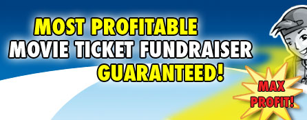 Most Profitable Cookie Movie Ticket Fundraiser