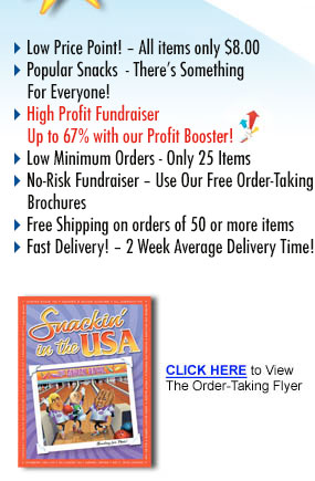 Snack Fundraiser Benefits