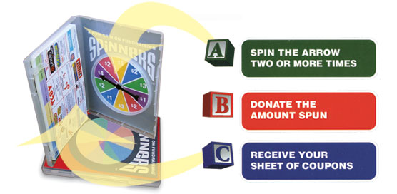 How Spinners Fundraising Works