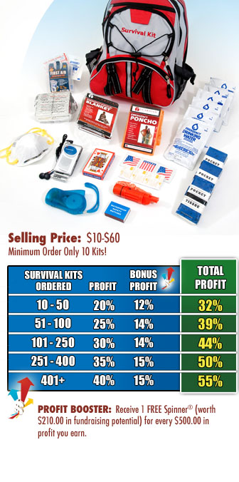 Survival Gear Fundraising