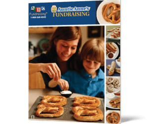 Auntie Anne's Pretzel Fundraiser - great for Softball fundraising