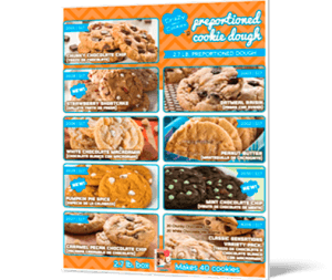 Cookie Dough for a Cheerleading Fundraiser