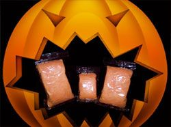 October Halloween Special: Orange Cotton Candy (Orange Flavored)