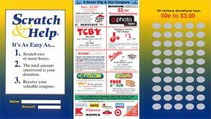 Scratch Card Fundraiser For Cheerleaders