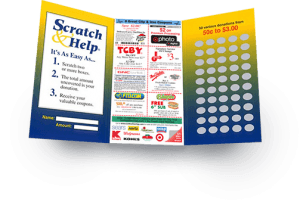 Scratch Card Fundraiser For Cheerleading Fundraisers