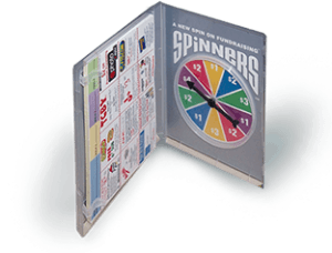 Spinners® Fundraiser For A Track and Field Fundraiser
