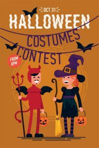 Halloween Contest For A Non-Profit Fundraiser